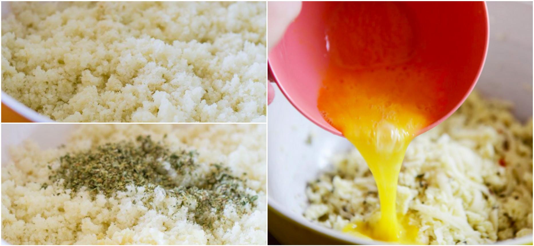 Тесто из цветной капусты